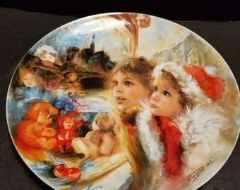 1986 La Vitrine Magique decorative plate