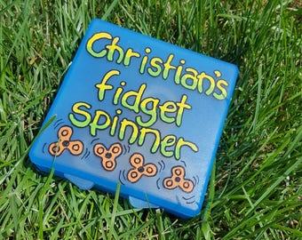 Fidget spinner case