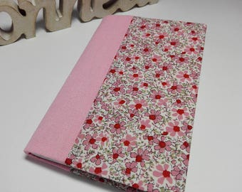 Notebook with cover in linen and liberty, big model