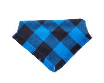Azul Frayed Bandana or Frayed Bow Tie