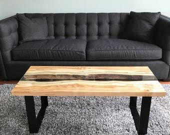 Live edge river tables.