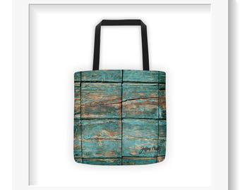 Free Shipping : Rustic Timber Tote Bag