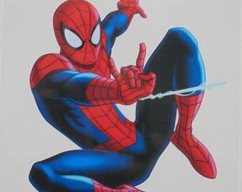 autocollant  spiderman 90*70mm