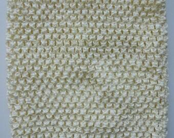 15cm*15 cm (0/3 mois) bustier tube crochet de couleur ivoire pour tutu