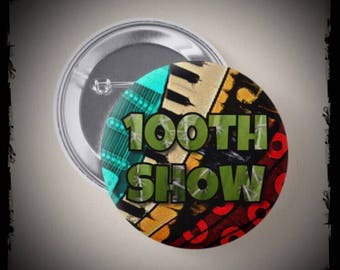 Phish 100th Show Button