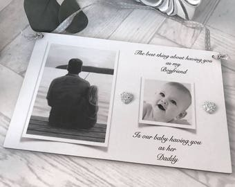 Personalised Daddy/Boyfriend Photo Plaque/Wall Hanging  P161