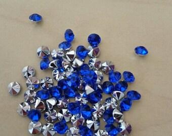 Royal Blue conical rhinestones 4 / 4.5 mm