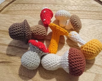 Mushrooms Game Kitchen Accessories Knitted