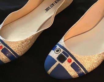 Women's R2-D2 Inspired Flats