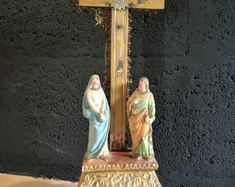 Antique religious statue