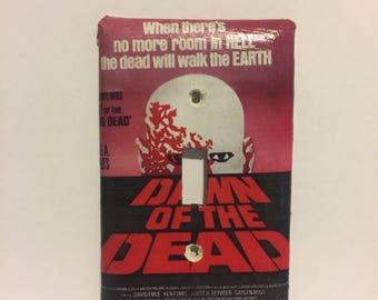 Dawn of the Dead Light Switch Plate George Romero