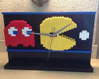 Pac-Man Lego Clock