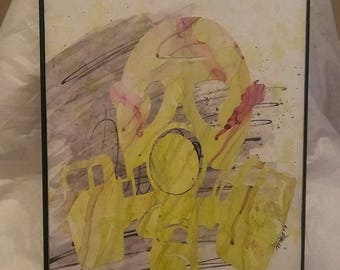 """8x10 """"Gassed"""" by Mikell K. Larkin"""