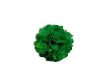Beautiful flower lace - dark green