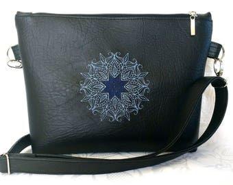Artificial leather shoulder Bag