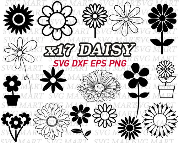 Daisy Svg Flower Svg Daisy Flower Cut File Cute Svg – Fondos de Pantalla