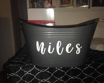 Personalized Tub