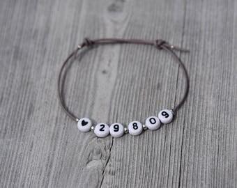 Bracelet personalized date