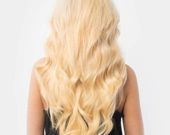 Blonde 100% Remy Human Hair Extensions