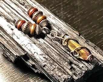 Titanium Infused Quartz Crystal Pendant & Necklace