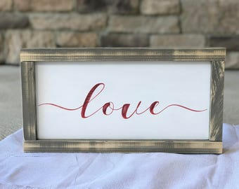 wood love sign, wood love, wood love wall art, love sign, wood love quote signs, love wood sign, love wooden sign, love wood wall art