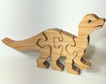 Standing Mussaurus Dinosaur Puzzle