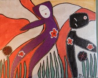 Outsider, folk art, brut, primitive