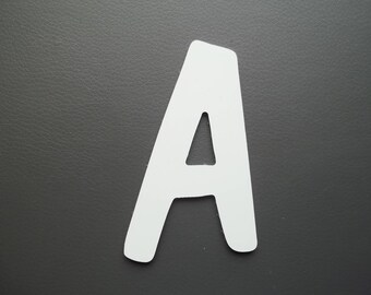 Metal aluminum DOM CASUAL letter. all letters available