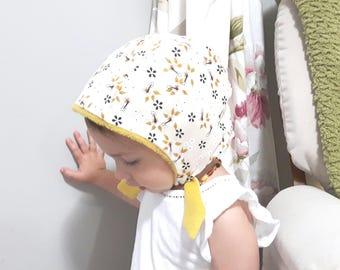 Size 2-3 years Toddler Girls Winter Bonnet Hat