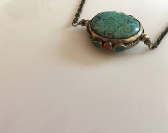 Torquoise Pendant Necklace