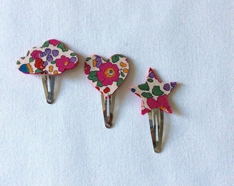 Barrettes girl liberty betsy bougainvillea