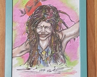 Hippie Portrait.