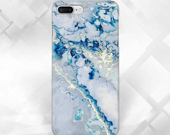 Bue Marble Case,Samsung S8,S8 Plus,S7,Galaxy A3,A5,Samsung Note 5,iPhone Case,iPhone 6S,iPhone 7,iPhone 7 Plus,iPhone 5C,SE,5S & Touch 6