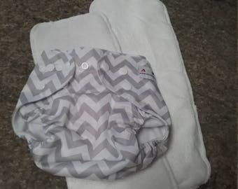 All in One Cloth Diaper & Inserts