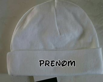 Customized by flocking 0/3 months Hat