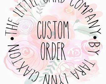 Custom Order Package