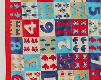 Baby quilts. Handmade. Baby boy quilt. Numbers quilt. Corduroy quilt. Baby blanket. Baby bedding. Toddler quilt. Baby gift. Baby quilt