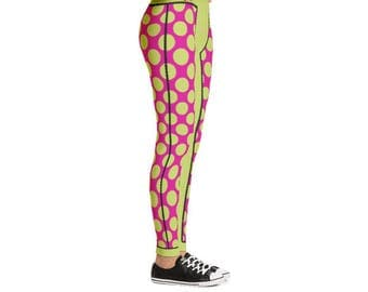 Yogi & Pie Happy Polka Dots Yoga Leggings