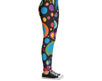 Colorful Bubbles Leggings | Women Leggings | Yoga Leggings | Fitness Leggings | Outfit Leggings | Beautiful Leggings | Pilates Leggings