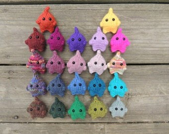 Mini Monsters x 2, Amigurumi