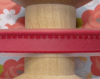 Red piping PVC - waterproof-