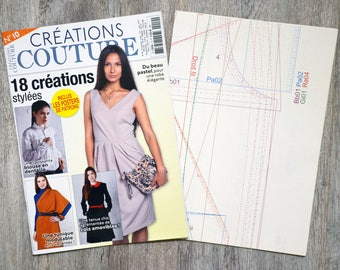 Magazine 10-18 designs stylish couture Creations