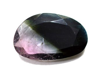 Tourmaline Natural Polki Both Side Faceted 5.10 cts 11x17.5 mm Rose Cut 100% Natural Loose Gemstone - 3567