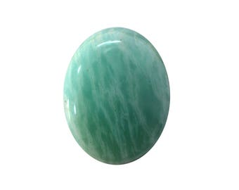 Amazonite Cabochon, Natural Inclusion At Wholesale Price big piece 25.20 cts. 21x26 mm 100% Natural Loose Gemstone - Am - 11