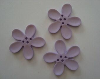 Perle Fleur Orchid purple 40mm