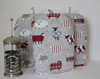 Sheep Cafetiere Cosy