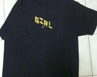Girl Skateboard T-Shirt Men's Size L
