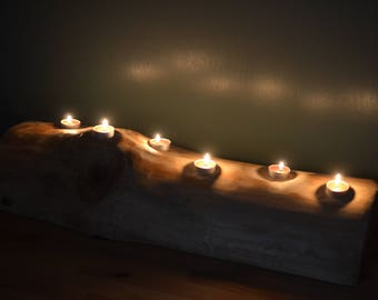 Table top centrepiece tea light holder