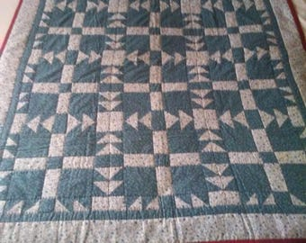 Quilted Lap Throw/Couch Quilt