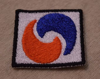Forbidden Fruit Embroidered Patch